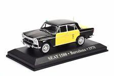 Taxi Seat 1500 - Barcelona - 1970 - 1:43 (AB1TA049)