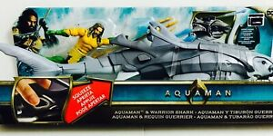 """Aquaman and Warrior Shark,6-Inch Figure and 18"""" Creature Pack FWX37"""