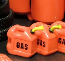 Two Red Gas Cans Garage Shop Accessories Miniature 1:24 (G) Scale Diorama