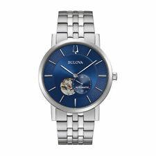Bulova 96A247 Men's American Clipper Blue Dial Automatic Watch