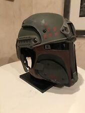 Star Wars Galac-Tac Boba Fett 1:1 Helmet - Airsoft Paintball - Anovos RS Props