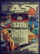 Fast car magazine 12th Birthday Issue 1999 Limited Edition 170 pages RARE