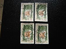 COTE D IVOIRE - timbre yvert/tellier n° 218 x4 obl (A28) stamp (Z)