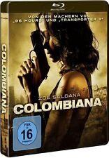 COLOMBIANA (Zoe Saldana) Blu-ray Disc NEU+OVP