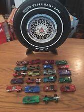 Lot Of 22 Vintage 1960's Redline Hot Wheels With Case