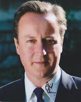 David Cameron Hand Signed 8x10 Photo Autograph Politic Prime Minister