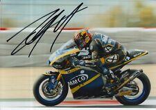 Louis Rossi mano firmado 7x5 Foto Tech 3 Moto 2 MotoGP 13.