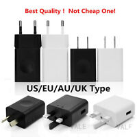 REAL 2A USB Wall Charge Travel Power Adapter Quick Fast Charger UK/US/AU/EU Lot