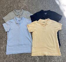 Lands' End Girls Uniform Polos; Bundle/Lot Of 4; Size L, 14