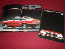 1980 (?) LANCIA BETA COUPE 16 Page BROCHURE / CATALOG, in FRENCH