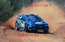 Richard Burns Subaru Impreza WRC2000 Rally of Australia 2000 Photograph