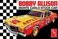 Bobby Allison 1972 Chevy Monte Carlo Stock 1/25 scale skill 3 AMT model kit#1064