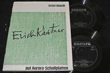 ERNST BUSCH Erich Kästner / DDR Doppel SP 1969 AURORA 580033/034
