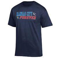 Champion MLB/NCAA Kansas City Royals-Kansas Jayhawks Men's Combo T-Shirt