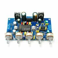 Upgrade LM4610 + NE5532 Tone Preamplifier Board Double AC12-15V