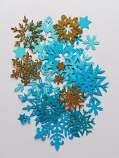 Intricate Snowflake Snow Embellishment Scrap Booking Die Cut Outs Variety Pack