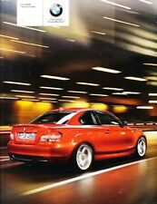 2009 09 BMW 1 Series Coupe Sales Brochure Mint