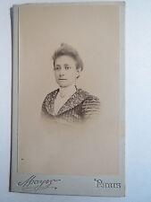 Paris - 1900 - Frau im Kleid - Portrait / CDV