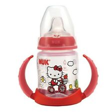 New NUK Hello Kitty Learner Cup 5oz. 1pk 6m+ Silicone Spout
