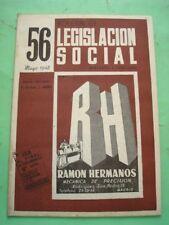 REVISTA - MAGAZINE BOLETIN DE LEGISLACION SOCIAL Nº 56