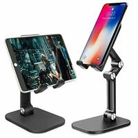 Cell Phone Holder for Desk,Angle Height Adjustable Tablet Stand & Phone