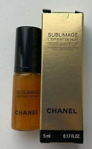 Chanel Sublimage L'Extrait DE NUIT 5 ml 0.17 fl oz MINIATURE VIP GIFT