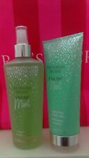 Victoria's Secret SNOW MINT Holiday Collection Fragrance Mist & hand cream