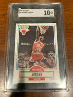 SGC 10 MICHAEL JORDAN 1990-91 Fleer 26 Chicago Bulls  GEM MINT Comp PSA 10