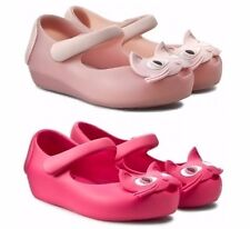 Mini Melissa Shoes Pink Toddler Girls Ultragirl Cat Mary Jane Shoes NEW