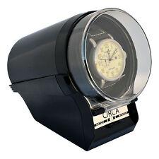 CIRCA Watch Winder  Case Box Storage Timer  Automatic glossy Black