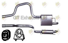 For Ford Mondeo 2.0 2.2 Hatchback Saloon 04-07 Rear Exhaust +Fittings -FE982