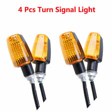 4XMotorcycle Turn Signal Indicator Blinker Light for Harley XL Sportster BMW KTM