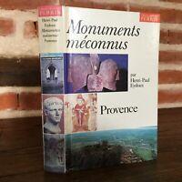 Henri-Paul Eydoux Monuments méconnus en Provence Perrin 1978