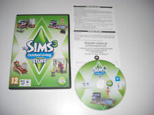 THE SIMS 3 Outdoor Living Stuff add-on pacchetto di espansione PC DVD/APPLE MAC THE SIMS 3