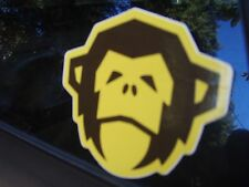 Howler Bros small Yellow Monkey head sticker