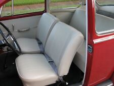 1958 - 64 Volkswagen VW Bug Original Style Seat Upholstery, F/R, Cloth and Vinyl