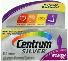 Centrum Silver Multivitamin 100 Tablets For Women Above 50+  No box!