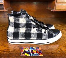 Converse Chuck Taylor All Star Hi Woolrich Mens Shoe Black/White 153834c Sz 9