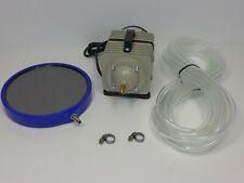 Hailea ACO388D Sauerstoffpumpe Belüfter Teichbelüfter Ausströmer-Platte Schlauch