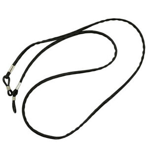 Eye Glasses Spectacle Chain Neck Strap Holder Leather Rope for Sport Travel