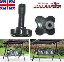 More details for canopy fixing screw bolt full plastic m12 screws for garden swing - one pair