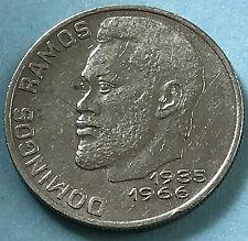20 Escudos 1977 República de Cabo Verde Cape Verde 🇨 🇻 Domingos Ramos KM # 20