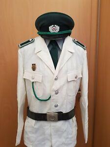 DDR - Uniform der Volkspolizei, Verkehrspolizei, Vopo, weiß, Wachtmeister 9
