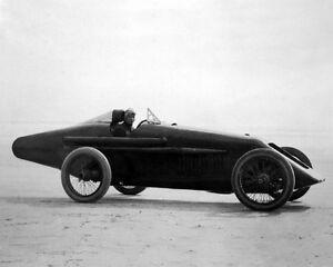 1920 Racecar Driver TOMMY MILTON Glossy 8x10 Photo Print Dayton Beach Poster