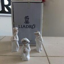 LLADRO 3 KINGS  # 5729 CHRISTMAS 3 PIECE ORNAMENT SET MINT CONDITION FAST SHIP!!