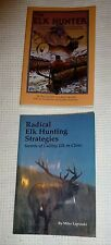 Lot of 2 Books  Elk Hunting Strategies and The Elk Hunter