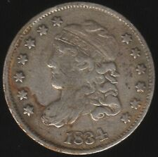More details for 1834 u.s.a. silver liberty cap half dime | world coins | pennies2pounds