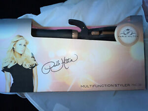 New Stylish PARIS HILTON Multi-Function Styler  7 Different Styling Attachments