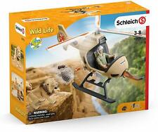 Schleich Wild Life 42476 Animal Rescue Helicopter