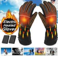 Motorrad-Motorrad erhitzte Handschuhe Winter- Batterie-elektrische wasserdichte